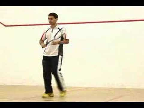 Razik's Squash Quick Tips 2 (Footwork)