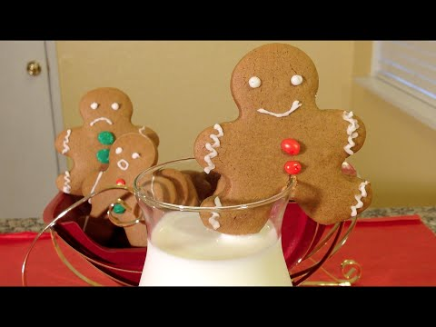 How To Make Gingerbread Cookies-Holiday Food Recipes