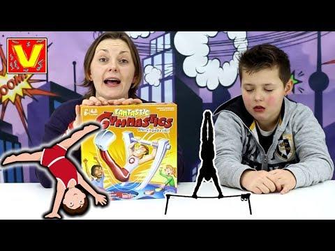 FANTASTIC GYMNASTIC - giochi in scatola per bambini - acrobazie e salti con il super ginnasta