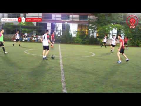 Çağdaş Cumhuriyet Spor - V For Gecekondu   Çağdas Cumhuriyet - V FOR Gecekondu Maç Özeti