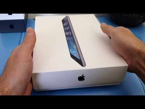 iPad Air Space Gray (Unboxing)