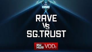 Rave vs Signature.Trust, ESL One Genting Quals, game 1 [LightOfHeaveN, Mila]