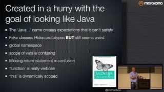 Node.JS: The Good Parts? A Skeptic's View