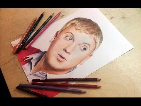 какие цветные карандаши подступают для рисования портретов