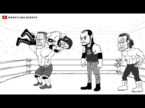 WWE Fastlane Cartoon feat. AJ Styles, John Cena, Kevin Owens, Sami Zayn and more