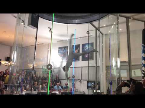 The Graceful Art of Dancing Inside an Indoor Skydiving Wind Tunnel at the 2017 Wind