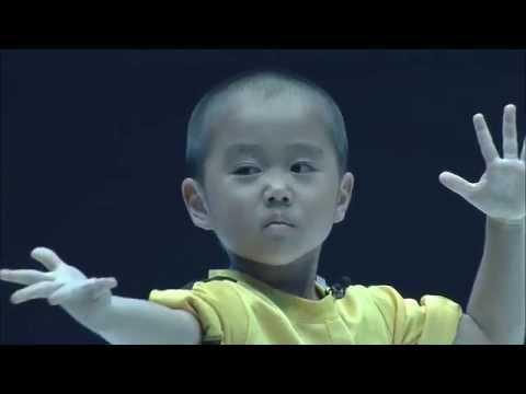 Ryusei 5v. on kuin minikokoinen Bruce Lee
