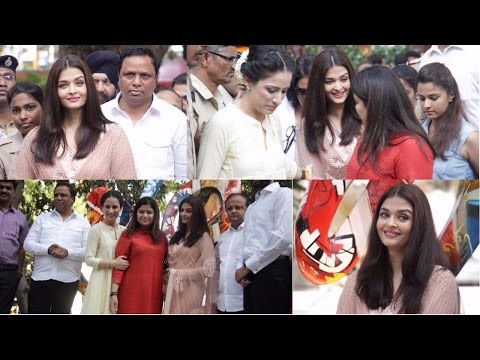 "Aishwarya Rai Bachchan Inaugurates ""The Paradise Garden"""