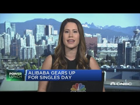 Alibaba gears up for China's biggest shopping day