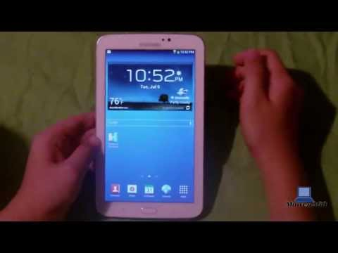 Samsung Galaxy Tab 3 7.0 (Wi-Fi) White 8GB Unboxing & Full Review