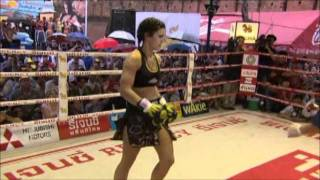 Gina Carano - Fight In Thailand