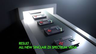 Sinclair Spectrum ZX Vega advert - welcome to the future!