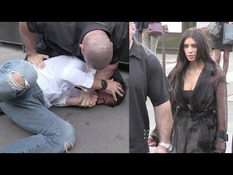 Full Official Video: Attacker Literally Kisses Kim Kardashian's Butt for Pranks (VIDEO)