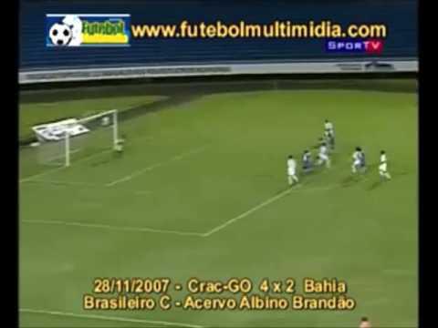 Gols de CRAC 4 x 2 Bahia -  Campeonato Brasileiro ...