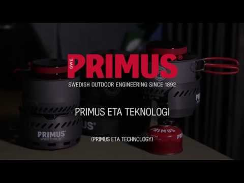 Our Eta range has an efficiency rate that's nearly doubled compared to conventional stoves. Less fuel to carry is good for your purse, your back - and the environment. Scroll down and learn more about the future of eco-friendly outdoor cooking.  Read more - http://www.primus.eu/eta