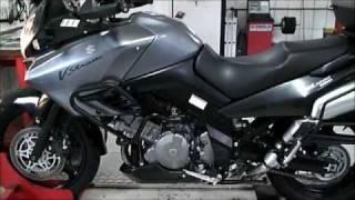 10. LR Motos - Suzuki V-Strom DL 1000 No Simulador de Velocidade