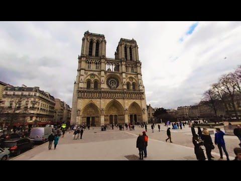 360 VR Tour   Paris   Notre-Dame de Paris   Cathedral   Outside and Inside   No comments tour