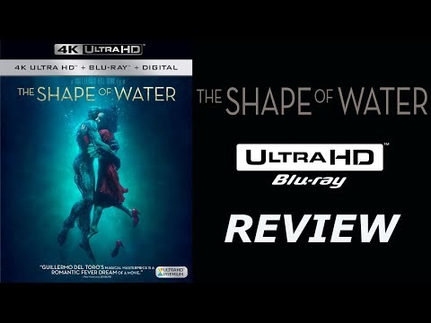 The Shape Of Water 4K Bluray Review