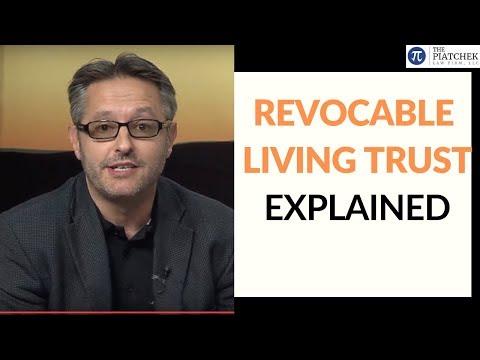 Revocable Living Trusts (Video): by Springfield, Missouri attorney Joseph J. Piatchek