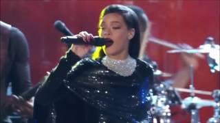 Rihanna - The Monster (Explicit) ft. Eminem LIVE