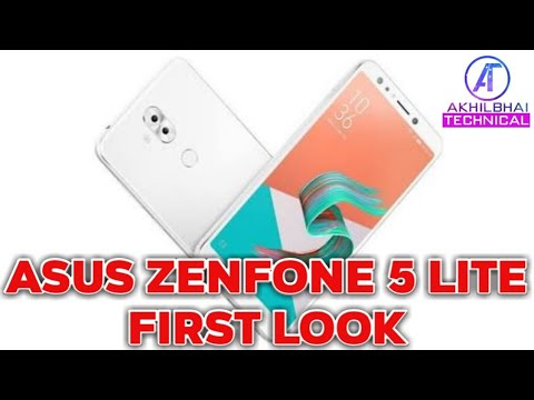 Asus ZenFone 5 lite 2018 First Look  Camera, Specs and More #MWC18