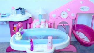 Video Baby Doll nursery toys for girls  baby girl change dolls diaper, bath baby toy videos for kids MP3, 3GP, MP4, WEBM, AVI, FLV Juli 2018