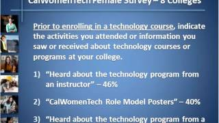 WomenTech Educators Webinar- More Female Students in Just One Year.
