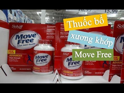 Thuốc Bổ Xương Khớp Của Mỹ, Move Free Total Joint Health 170 viên, Thuốc Bổ Xương Khớp Glucosamine
