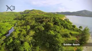 Aerial views of Guanaja! by Luis Aguero