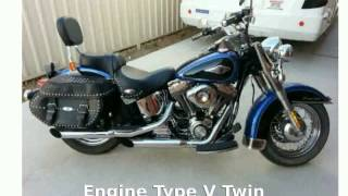 8. 2006 Harley-Davidson Softail Heritage Softail Classic Features