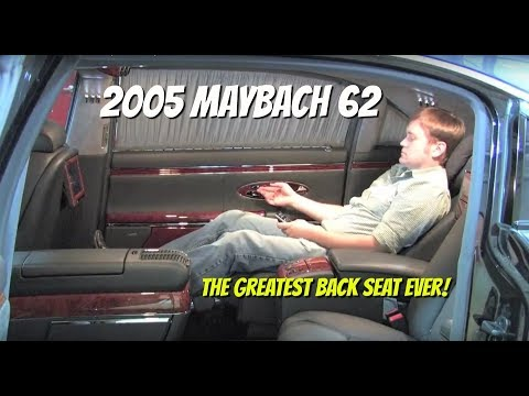 Maybach 62 Test Drive (And Ride!) with Chris Moran