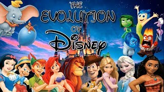 Video The Evolution Of Disney (1937-2018) MP3, 3GP, MP4, WEBM, AVI, FLV Januari 2019
