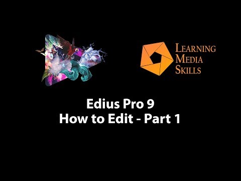 Edius Pro 9: How to Edit Part 1