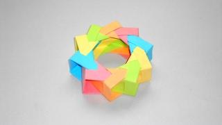 Игрушка из Бумаги Поделки Оригами из модулей