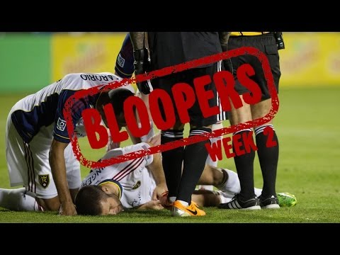 BLOOPERS: The funniest moments from MLS Week 2