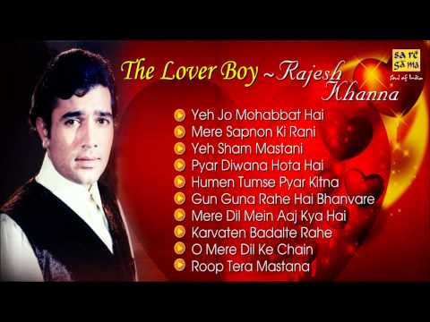 Download Best Of Rajesh Khanna - Romantic Songs - Jukebox - Evergreen Bollywood Collection HD Mp4 3GP Video and MP3