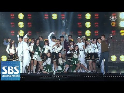 Like - 2014 SBS 가요대전 SUPER5 1부(Ep.1) 2014-12-21 공식홈페이지 : http://tv.sbs.co.kr/2013gayo 최신 영상 더보기 : http://vod.sbs.co.kr.