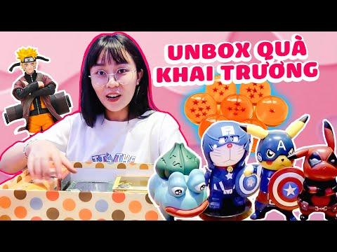 Unbox quà tặng khai trương MisMenu. MisThy phát cuồng vì món quà này ?! || MISMENU
