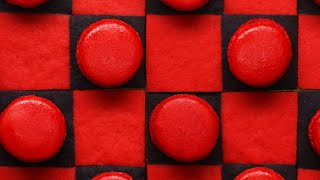 Edible Checkerboard Made With Macarons • Tasty by Tasty