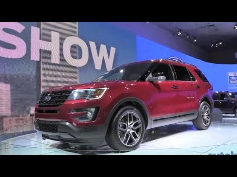 Fab Five SUVs at the LA Auto Show 2014
