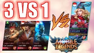 Video Diajak 3 VS 1!!! Ngakak Lawannya wkwkwkwkwk MP3, 3GP, MP4, WEBM, AVI, FLV Desember 2018