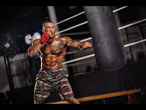 Former Marine David McIntosh's Hardcore Fight Workout