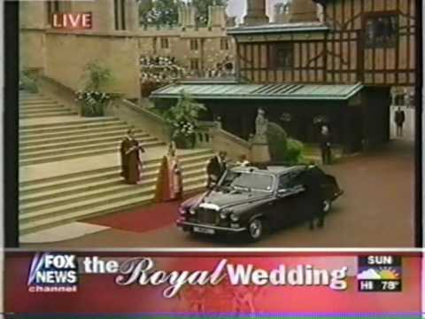 ROYAL WEDDING 1999 - Edward & Sophie (1 of 8)