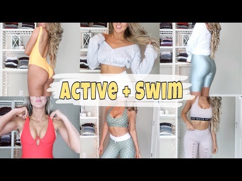 Fat burner - HUGE WHITEFOX Activewear and Swimsuit Haul