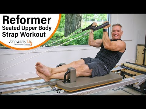 Pilates Reformer Seated Upper Body Strap Workout