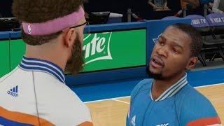 NBA 2K15 MyCareer - Talking Trash To Kevin Durant!