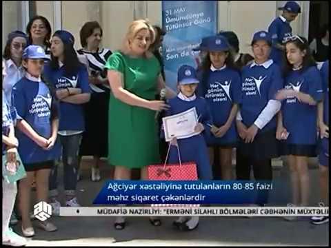31 may - Ümumdünya Tütünsüz Günü ANS tv reportaj, 2016