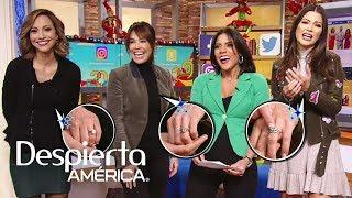Satcha, Karla y Ana Patricia presumen sus anillos de compromiso