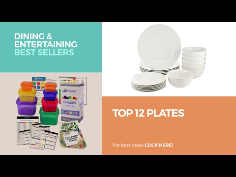 Top 12 Plates // Dining & Entertaining Best Sellers