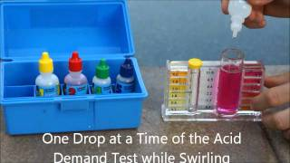 How to Clean and Maintain Swimming Pool : How to Test Water Chlorine